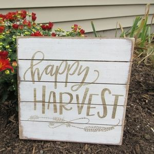 Fall Sign - Happy Harvest